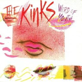 【送料無料】 Kinks キンクス / Word Of Mouth 35周年記念盤 (ピンク&ホワイト渦巻きヴァイナル仕様 / 180グラム重量盤レコード / Friday Music) ※入荷数が予約数に満たない場合は先着順となります 【LP】