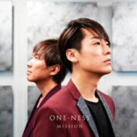 MISSION (福士誠治×濱田貴司) / ONE-NESS 【CD】