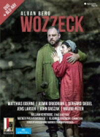 Berg ベルク / 『ヴォツェック』全曲 ケントリッジ演出、ヴラディーミル・ユロフスキー&ウィーン・フィル、マティアス・ゲルネ、アスミク・グリゴリアン、他(2017 ステレオ)(+DVD) 【BLU-RAY DISC】