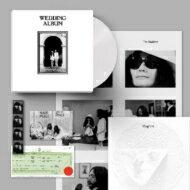【送料無料】 John Lennon/Yoko Ono ジョンレノン/オノヨーコ / Wedding Album 50周年記念盤 (ホワイト・ヴァイナル仕様 / アナログレコード) 【LP】