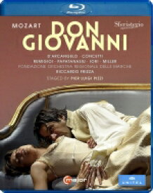 Mozart モーツァルト / 『ドン・ジョヴァンニ』全曲 ピッツィ演出、フリッツァ&マルケ地方財団管、ダルカンジェロ、レミージョ、他(2009 ステレオ)(日本語字幕付) 【BLU-RAY DISC】