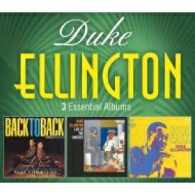 Duke Ellington デュークエリントン / 3 Essential Albums (3CD) 輸入盤 【CD】
