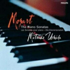 【送料無料】 Mozart モーツァルト / ピアノ・ソナタ全集 内田光子(5CD) 輸入盤 【CD】