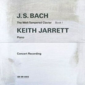 【送料無料】 Bach, Johann Sebastian バッハ / 平均律クラヴィーア曲集 第1巻 キース・ジャレット(ピアノ)(1987年3月ライヴ)(2CD) 輸入盤 【CD】