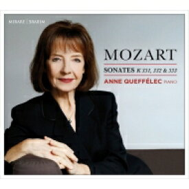 【送料無料】 Mozart モーツァルト / ピアノ・ソナタ第11番、第12番、第13番 アンヌ・ケフェレック 輸入盤 【CD】