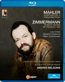 Mahler マーラー / マーラー:交響曲第2番『復活』、ツィンマーマン:トランペット協奏曲 アンドリス・ネルソンス&ウィーン・フィル、ホーカン・ハーデンベルガー、他 【BLU-RAY DISC】