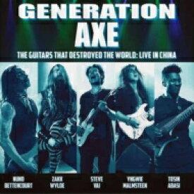 【送料無料】 Generation Axe / Guitars That Destroyed The World -live In China 【Blu-spec CD】