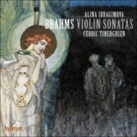 【送料無料】 Brahms ブラームス / ブラームス:ヴァイオリン・ソナタ第1番、第2番、第3番、C.シューマン:アンダンテ・モルト アリーナ・イブラギモヴァ、セドリック・ティベルギアン(日本語解説付) 【CD】