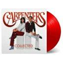 Carpenters カーペンターズ / Collected (レッド・ヴァイナル仕様 / 2枚組アナログレコード / Music On Vinyl) 【LP】