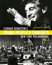 【送料無料】 Bernstein バーンスタイン / レナード・バーンスタイン/ヤング・ピープルズ・コンサート Vol.3(4BD)(日本語字幕・解説付) 【BLU-RAY DISC】