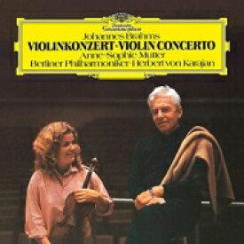 Brahms ブラームス / ヴァイオリン協奏曲 ムター(vn)カラヤン&ベルリン・フィル (アナログレコード) 【LP】
