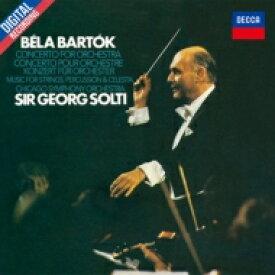 Bartok バルトーク / 管弦楽のための協奏曲、弦楽器・打楽器とチェレスタのための音楽 ゲオルグ・ショルティ&シカゴ交響楽団 【CD】