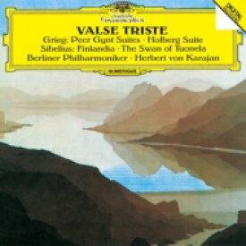 Grieg グリーグ / グリーグ:『ペール・ギュント』組曲、シベリウス:フィンランディア、トゥオネラの白鳥、 他 ヘルベルト・フォン・カラヤン&ベルリン・フィル(1981-84) 【CD】