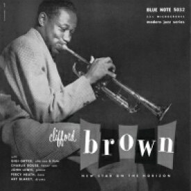 Clifford Brown クリオフォードブラウン / New Star On The Horizon (アナログレコード / Down At Dawn) 【LP】
