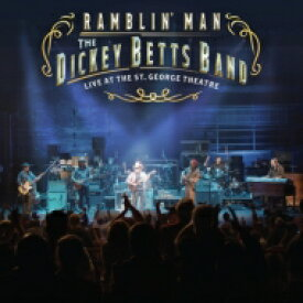 Dickey Betts ディッキーベッツ / Ramblin' Man Live At The St. George Theatre (+CD) 【BLU-RAY DISC】