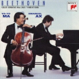 Beethoven ベートーヴェン / Cello Sonata.3, 5: Yo-yo Ma(Vc), Ax(P) 【CD】