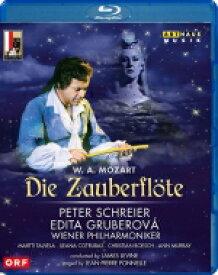 Mozart モーツァルト / 『魔笛』全曲 ポネル演出、ジェイムズ・レヴァイン&ウィーン・フィル、ペーター・シュライアー、エディタ・グルベローヴァ、他(1982 ステレオ)(日本語字幕付) 【BLU-RAY DISC】