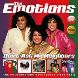 【送料無料】 Emotions エモーションズ / Don't Ask My Neighbors: Columbia / Arc Recordings (3CD) 輸入盤 【CD】