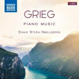 【送料無料】 Grieg グリーグ / ピアノ独奏曲集 アイナル・ステーン=ノックレベルグ(14CD)(日本語解説付) 【CD】