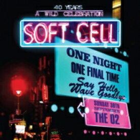 【送料無料】 Soft Cell ソフトセル / Say Hello, Wave Goodbye (Live At The 02 Arena) (2CD+DVD) 輸入盤 【CD】