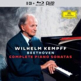 【送料無料】 Beethoven ベートーヴェン / ピアノ・ソナタ全集 ヴィルヘルム・ケンプ(8CD+ブルーレイ・オーディオ) 輸入盤 【CD】