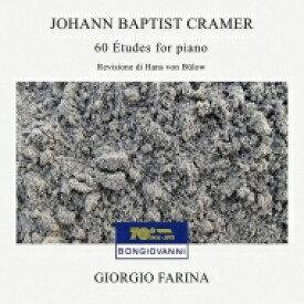【送料無料】 クラーマー、ヨハン・バプティスト(1771-1858) / 60の練習曲 ジョルジョ・ファリーナ(ピアノ)(2CD) 輸入盤 【CD】