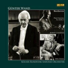 【送料無料】 Beethoven ベートーヴェン / ギュンター・ヴァント、カサドシュ、ギレリス / ベートーベン:ピアノ協奏曲 (2枚組アナログレコード) 【LP】