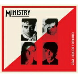 Ministry ミニストリー / Chicago / Detroit 1982 輸入盤 【CD】