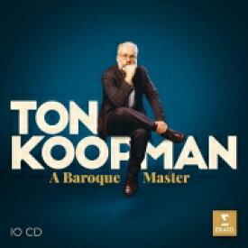 【送料無料】 トン・コープマン/バロック・マスター(10CD) 輸入盤 【CD】