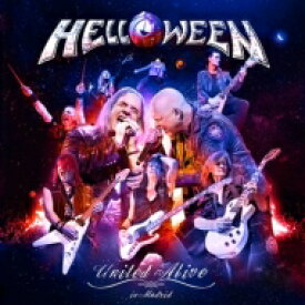 【送料無料】 Helloween ハロウィン / United Alive In Madrid (3CD) 【CD】