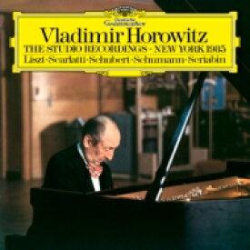 ホロヴィッツ:ザ・スタジオ・レコーディングス ニューヨーク 1985年 (180グラム重量盤レコード) 【LP】