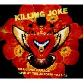 Killing Joke キリングジョーク / Malicious Damage: Live At The Astoria 12.10.03 輸入盤 【CD】