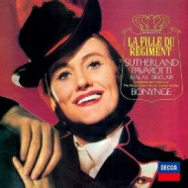 【送料無料】 Donizetti ドニゼッティ / 『連隊の娘』全曲 ボニング&コヴェント・ガーデン王立歌劇場、ジョーン・サザーランド、ルチアーノ・パヴァロッティ、他(1967 ステレオ)(2CD) 【Hi Quality CD】