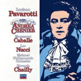 【送料無料】 Giordano ジョルダーノ / 『アンドレア・シェニエ』全曲 リッカルド・シャイー&ナショナル・フィル、ルチアーノ・パヴァロッティ、モンセラート・カバリエ、他(1982、84 ステレオ)(2CD) 【Hi Quality CD】