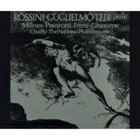 【送料無料】 Rossini ロッシーニ / 『ウィリアム・テル』全曲 リッカルド・シャイー&ナショナル・フィル、シェリル・ミルンズ、ミレッラ・フレーニ、他(1978、79 ステレオ)(4CD) 【Hi Quality CD】