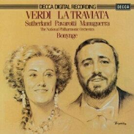 【送料無料】 Verdi ベルディ / 『椿姫』全曲 ボニング&ナショナル・フィル、ジョーン・サザーランド、ルチアーノ・パヴァロッティ、他(1979 ステレオ)(2CD) 【Hi Quality CD】