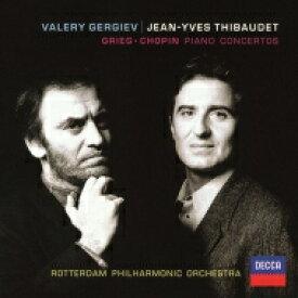 Grieg グリーグ / グリーグ:ピアノ協奏曲、ショパン:ピアノ協奏曲第2番 ジャン=イヴ・ティボーデ、ワレリー・ゲルギエフ&ロッテルダム・フィル 【SHM-CD】