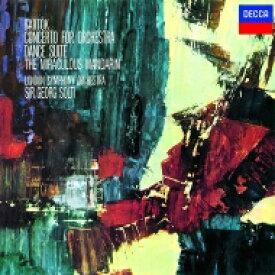 Bartok バルトーク / 管弦楽のための協奏曲、舞踏組曲、組曲『中国の不思議な役人』 ゲオルグ・ショルティ&ロンドン交響楽団 【SHM-CD】