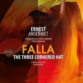 Falla ファリャ / El Sombrero De Tres Picos: Ansermet / Sro Berganza(Ms) 【LP】