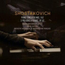 Shostakovich ショスタコービチ / Piano Concerto, 1, 2, : Shostakovich(P) Vaillant(Tp) Cluytens / French National Radio O 【LP】