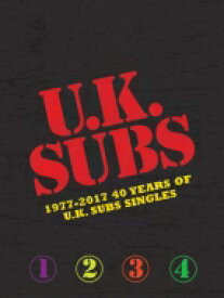 【送料無料】 Uk Subs / 1977-2017: 40 Years Of Uk Subs Singles 輸入盤 【CD】