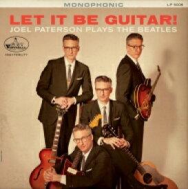 Joel Paterson / Let It Be Guitar! Joel Paterson Plays The Beatles 【LP】