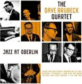 Dave Brubeck デイブブルーベック / Jazz At Oberlin (180グラム重量盤レコード) 【LP】