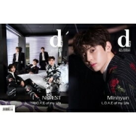 【送料無料】 dicon vol.6 NU'EST「L.O.Λ.E. of my Life」【表紙B:Minhyun ver.】 / NU'EST 【本】