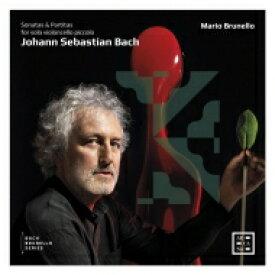 【送料無料】 Bach, Johann Sebastian バッハ / 無伴奏ヴァイオリンのためのソナタとパルティータ全曲 マリオ・ブルネロ(4弦チェロ・ピッコロ)(2CD) 輸入盤 【CD】