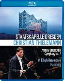 Bruckner ブルックナー / 交響曲第2番 クリスティアーン・ティーレマン&シュターツカペレ・ドレスデン 【BLU-RAY DISC】