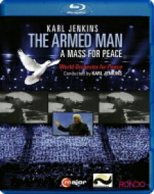 Karl Jenkins (Soft Machine/Adiemus) カールジェンキンス / The Armed Man-a Mass For Peace: Karl Jenkins / World Orchestra & Cho For Peace Etc 【BLU-RAY DISC】