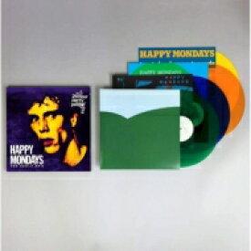 【送料無料】 Happy Mondays ハッピーマンデーズ / Early Eps (カラーヴァイナル仕様 / 4枚組7インチシングルレコードBOXセット) 【LP】