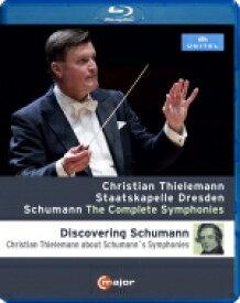 Schumann シューマン / 交響曲全集 クリスティアーン・ティーレマン&シュターツカペレ・ドレスデン(2018年東京ライヴ) 【BLU-RAY DISC】