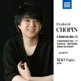 【送料無料】 Chopin ショパン / スケルツォ集、即興曲集 藤田真央(日本語解説付) 【CD】